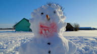 The big snowman with black buttons video