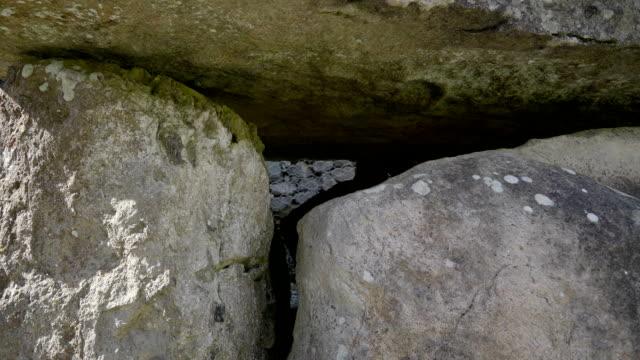 The big stonehenge in the Carrowmore Cemetery Ireland video