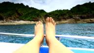 The blue of andaman sea Phuket Thailand video