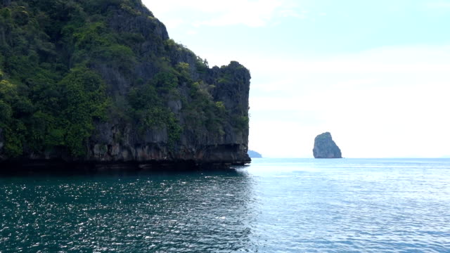 The boat ride to andaman sea in Thailand video