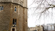 The brick-walled tower of London video