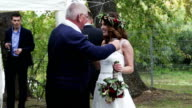 The bride and her father video