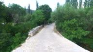 The Bridge on Krupa river, Croatia video