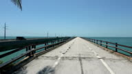 The Bridges conneting the Keys in South Florida video