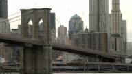 The Brooklyn Bridge and Manhattan video