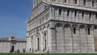 The Cathedral of Pisa in Square Miracles, Italy video