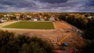 The central city of Parnu in Estonia video