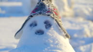 The chubby snowman with a bonnet video