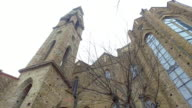 the church of Santa Maria Novella in Florence - Italy video