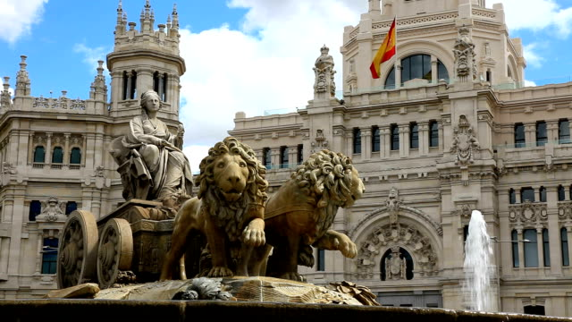 The Cibeles Fountain Madrid video