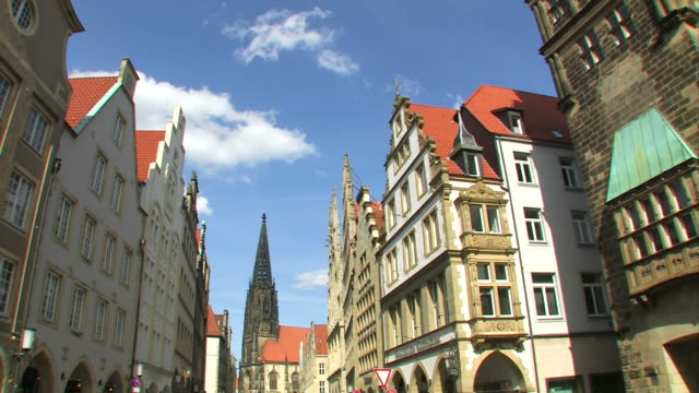 The City Münster in Germany video