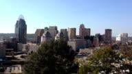 The City of Cincinnati great view on the skyline  - CINCINNATI, OHIO USA video