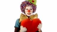 the clown has a big heart video