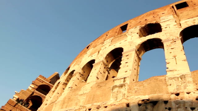 The Colosseum in Rome, Italy video