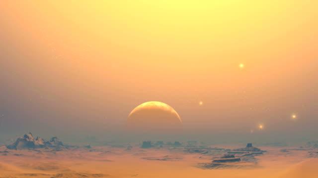 The desert planet of aliens video