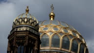 The dome of new synagogue, Berlin video