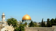 The Dome of the Rock, Jerusalem, Israel video