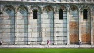 The duomo and leaning tower of Pisa in Piazza dei Miracoli video