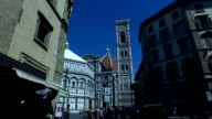 The Duomo in the City of Florence in Tuscany, Italy video