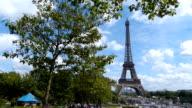 The Eiffel Tower, Paris France video