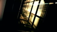 The elevator shaft. video