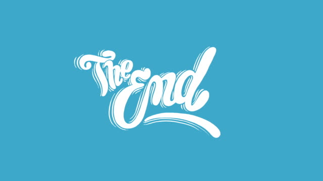 The End Title video