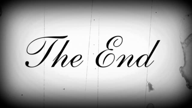 The end with sound v1 video