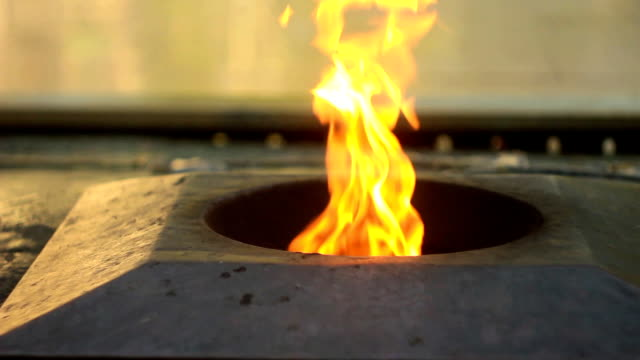 the eternal flame in Russia video