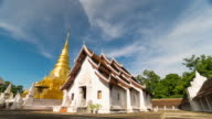 The famous travel destinationin Nan province, Phra That Chae Haeng Temple video