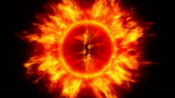The fire eye of Sauron video