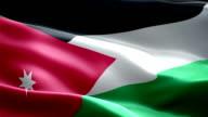 the flag of Jordan video