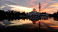 The Floating Mosque, Malaysia video