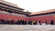 The Forbidden City in beijing, China video