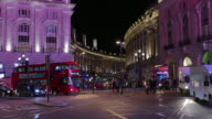 The Fountain at Piccadilly Circus LONDON, ENGLAND video