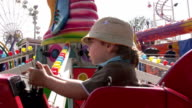 The funfair and little boy video