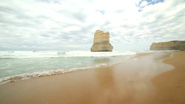 The Gibsons steps rock formation, Australia video