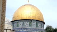 The golden Dome of the Rock video
