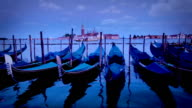 The Gondola's of Venice, Italy video