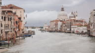 The Grand Canal and Basilica Time Lapse in Venice, Italy video