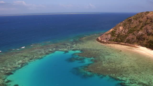 AERIAL: The Great Barrier Reef, Palfrey Island video