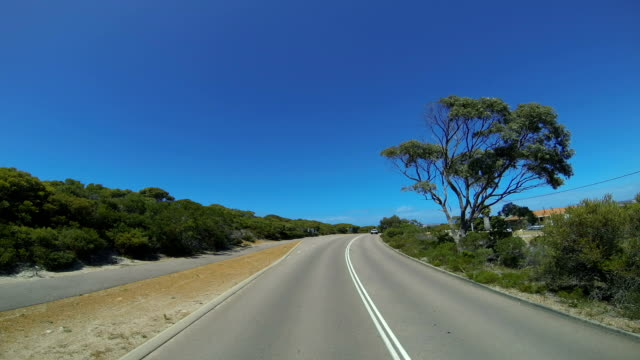 The Great Ocean Drive Time lapse from drive, Esperance, Western Australia video