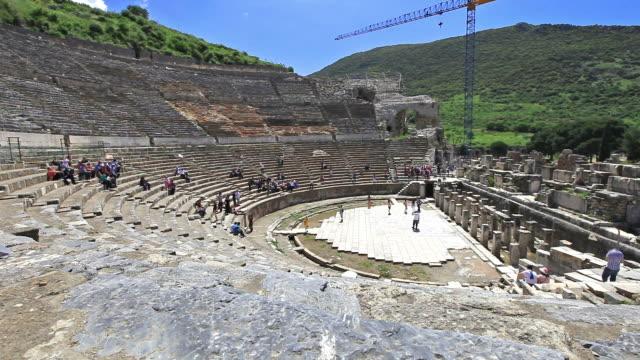 The Great Theatre of Ephesus video