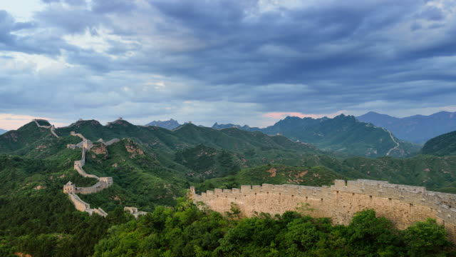 The great wall of China video