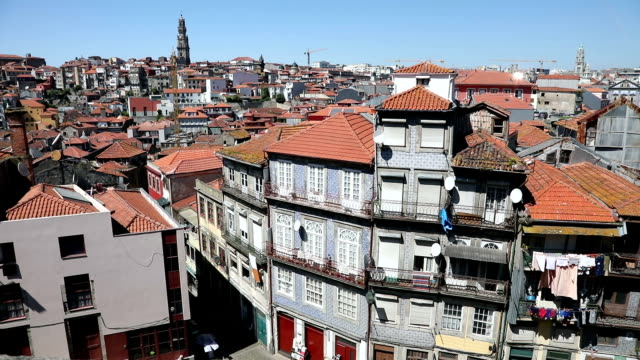 The heart of the old Porto city video