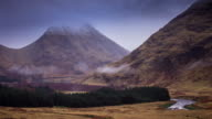 The Herdsmen of Etive, Scottish Highlands - Time Lapse video