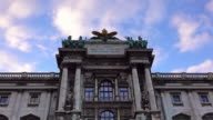 The Hofburg Complex from Burggarten, Vienna video
