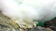 The Ijen crater. video