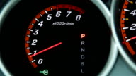 the inclusion of a tachometer in the factory video