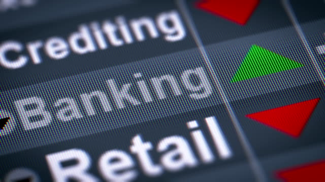 The Index of Banking on The Screen. video