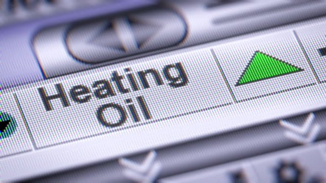 The Index of Heating Oil. Up. video